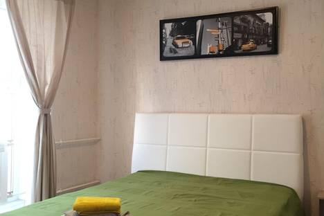 Сдается 2-комнатная квартира посуточно в Барнауле, ул. Чкалова, 66.