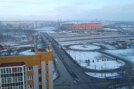 Сдается 1-комнатная квартира посуточно в Саранске, Коммунистическая 15.