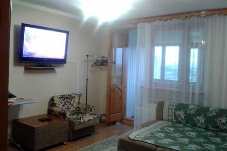 Сдается 1-комнатная квартира посуточнов Заозерном, проспект Ленина, 52.