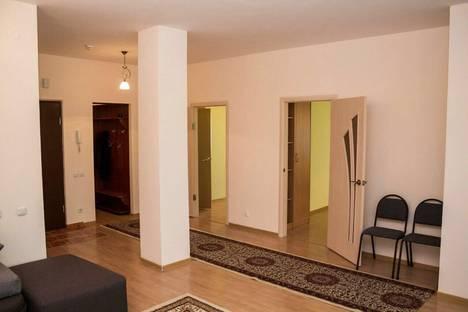 Сдается 3-комнатная квартира посуточно в Астане, ЖК Северное сияние,Достык 5.