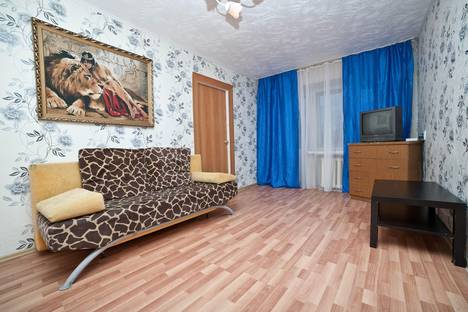 Сдается 2-комнатная квартира посуточно в Екатеринбурге, ул. Челюскинцев, 33а.