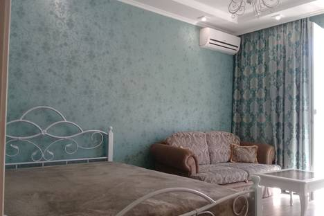 Сдается 1-комнатная квартира посуточнов Андреевке, Античный проспект, 12.