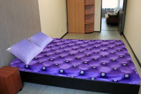 Сдается 2-комнатная квартира посуточно в Комсомольске-на-Амуре, пр. Первостроителей 15/2.
