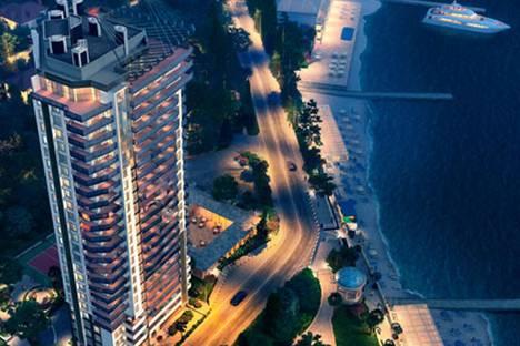 Сдается 1-комнатная квартира посуточно в Сочи, Черноморская ул., 10.