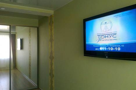 Сдается 1-комнатная квартира посуточнов Дзержинске, ул. Строителей, 9в.