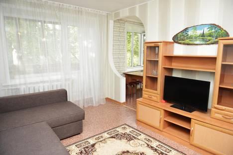 Сдается 2-комнатная квартира посуточно в Алматы, Толеби тлендиева 52.