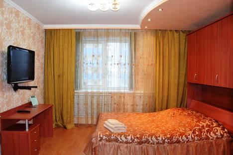Сдается 1-комнатная квартира посуточно в Брянске, Красноармейская, 100.