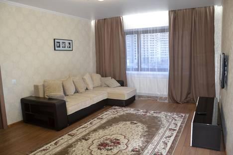 Сдается 1-комнатная квартира посуточнов Тюмени, ул. Харьковская, 66.