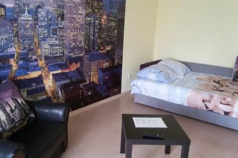 Сдается 1-комнатная квартира посуточно в Барнауле, проспект Калинина, 8А.