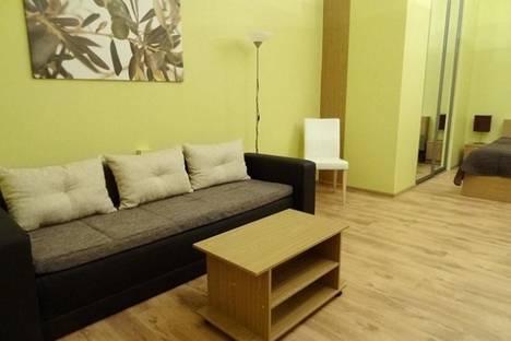 Сдается 1-комнатная квартира посуточно в Риге, Валдемара, 91.