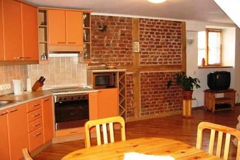 Сдается 4-комнатная квартира посуточнов Риге, Яуниела, 14.