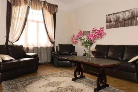 Сдается 4-комнатная квартира посуточнов Риге, Гертрудес, 54.