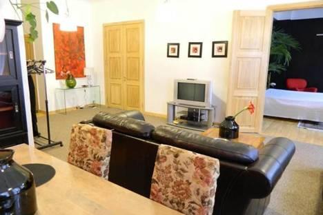 Сдается 3-комнатная квартира посуточно в Риге, Шкюню, 13.