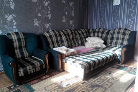 Сдается 1-комнатная квартира посуточно в Атырау, Махамбета 130А.