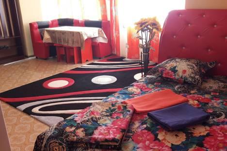 Сдается 1-комнатная квартира посуточно в Алматы, ул. Байтурсынова, 2.