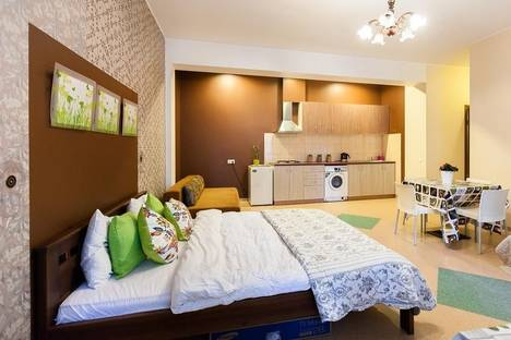 Сдается 1-комнатная квартира посуточно в Вильнюсе, V.Sopeno, 6.