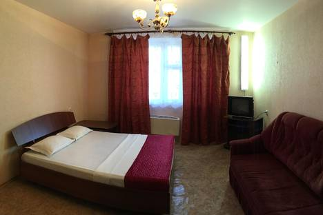 Сдается 1-комнатная квартира посуточно в Подольске, ул. Литейная, 10.