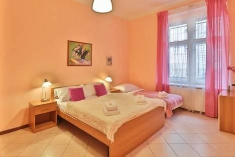 Сдается 2-комнатная квартира посуточно в Праге, Na Kozacce, 6.