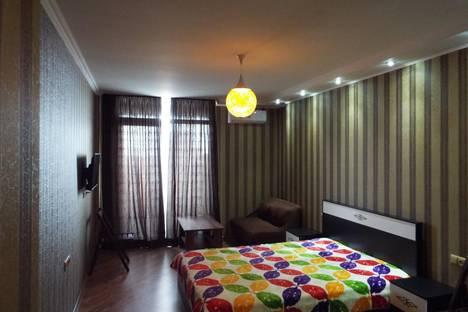 Сдается 1-комнатная квартира посуточнов Кобулети, Улица  Кобаладзе, 2.Этаж 15,кв.24.