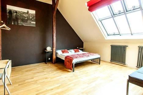 Сдается 1-комнатная квартира посуточно в Праге, Francouzská, 76.