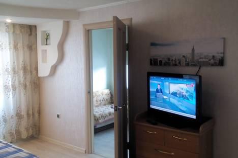 Сдается 2-комнатная квартира посуточно в Железногорске, ул. Свердлова, 53.
