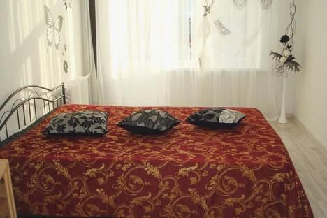 Сдается 2-комнатная квартира посуточно в Петрозаводске, ул. Куйбышева, 17.