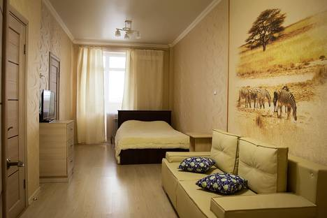 Сдается 1-комнатная квартира посуточно в Ростове-на-Дону, ул. Евдокимова, 102б.