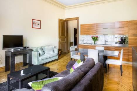 Сдается 1-комнатная квартира посуточно в Праге, Křížovnická, 12.