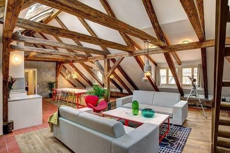 Сдается 3-комнатная квартира посуточно в Праге, Rybná, 3.