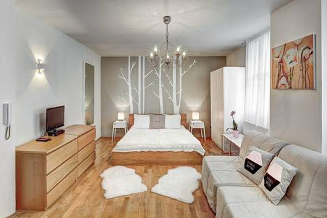 Сдается 1-комнатная квартира посуточно, Jilská, 12.
