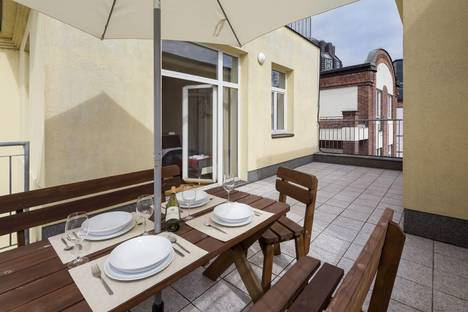 Сдается 4-комнатная квартира посуточно в Праге, Václavské náměstí, 36.