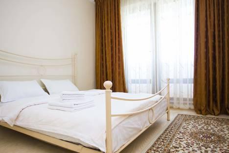 Сдается 2-комнатная квартира посуточнов Алматы, ул. Габидена Мустафина, 35А.