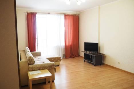 Сдается 2-комнатная квартира посуточно в Пушкино, ул. Надсоновская, 24.