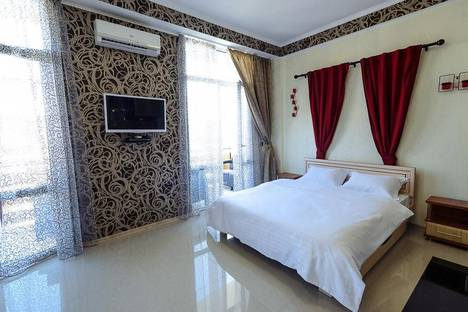 Сдается 1-комнатная квартира посуточнов Каче, ул. Рыбацкий Причал, 6.