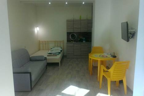 Сдается 1-комнатная квартира посуточнов Сочи, переулок Севастопольский, д. 1а.