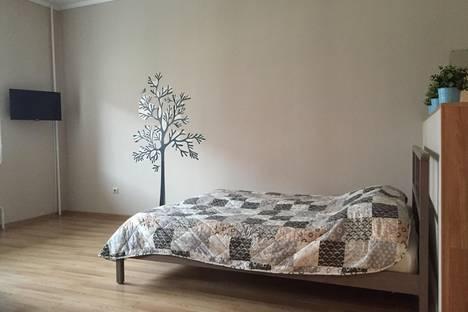 Сдается 1-комнатная квартира посуточнов Тюмени, ул. Станислава Карнацевича, 12.