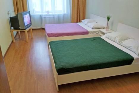 Сдается 2-комнатная квартира посуточно в Чебоксарах, ул. Академика А.Н.Крылова, 11.
