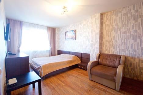 Сдается 1-комнатная квартира посуточно в Красноярске, ул. Алексеева, 19.
