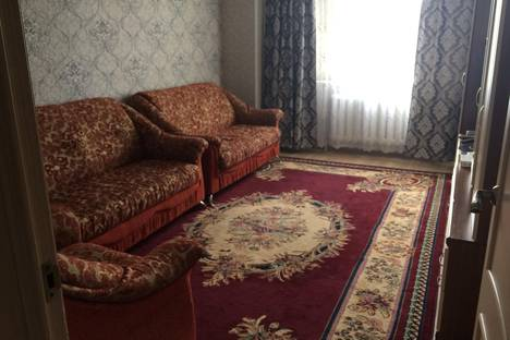 Сдается 2-комнатная квартира посуточно в Астане, улица Орынбор, 19.