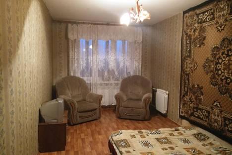 Сдается 1-комнатная квартира посуточнов Саранске, проспект 60 лет октября.