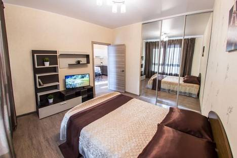 Сдается 1-комнатная квартира посуточно в Уфе, ул. Комсомольская, 15.