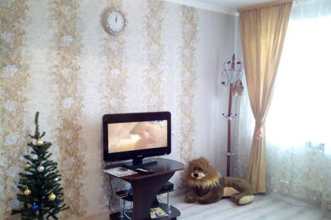 Сдается 1-комнатная квартира посуточно в Краснодаре, ул. им Атарбекова, 1/2.