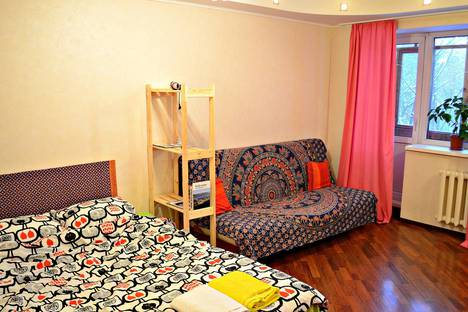 Сдается 1-комнатная квартира посуточнов Перми, ул. Ленина, 82.