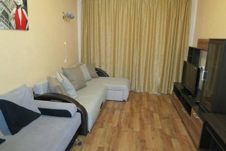 Сдается 1-комнатная квартира посуточнов Тюмени, ул. Пермякова, 56А.