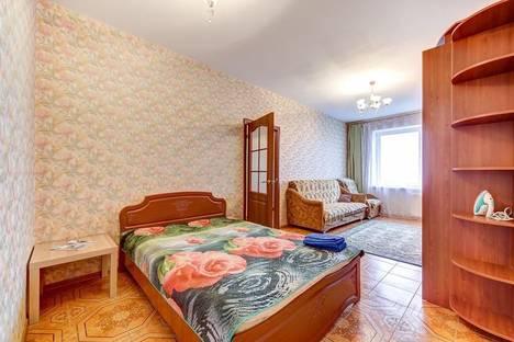 Сдается 1-комнатная квартира посуточно в Санкт-Петербурге, проспект Авиаконструкторов, 2.