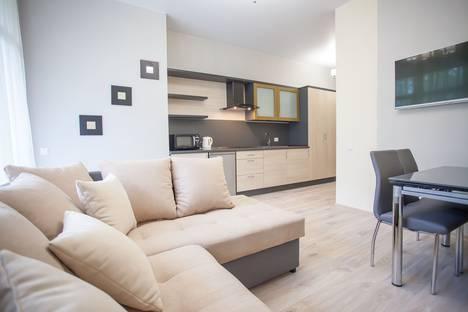 Сдается 2-комнатная квартира посуточно в Светлогорске, ул. Верещагина, 12.