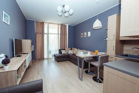 Сдается 1-комнатная квартира посуточно в Светлогорске, ул. Верещагина, 12.