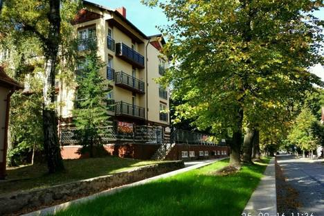 Сдается 2-комнатная квартира посуточно в Светлогорске, Октябрьская улица 2а.