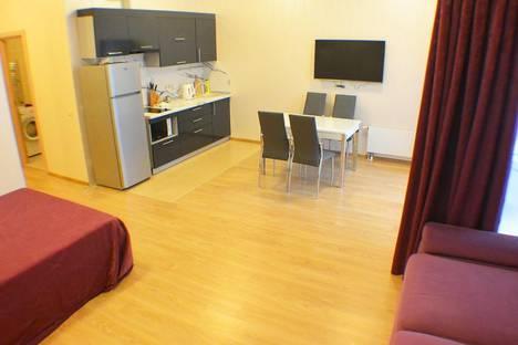 Сдается 1-комнатная квартира посуточнов Адлере, улица Парусная, 23.