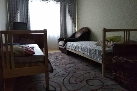 Сдается 3-комнатная квартира посуточно в Новороссийске, проспект Ленина, 55.